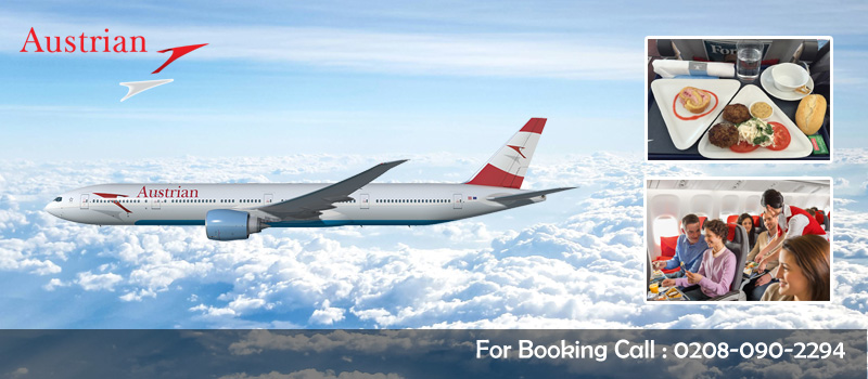 Online Book Austrian Airlines Flights From United Kingdom, Travel Wide Flights, Book Flights and Hotels
