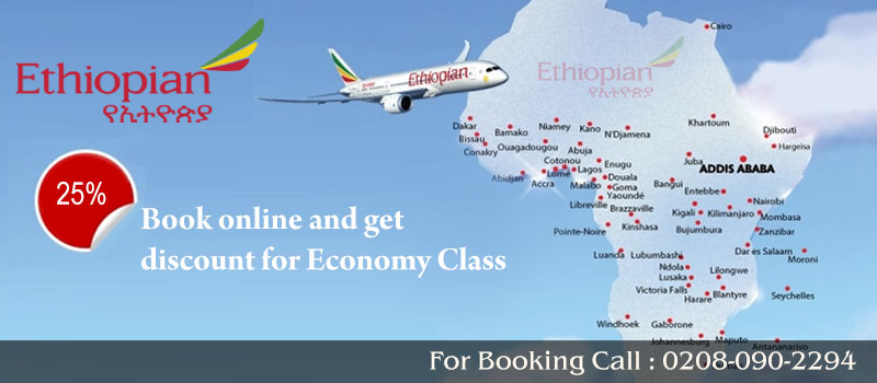 Book Ethiopian Airlines Flights From United Kingdom, Travel Wide Flights, Book Flights and Hotels