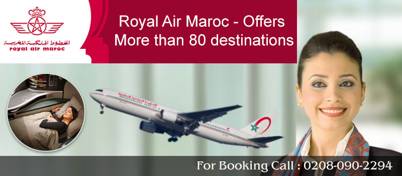 Book Royal Air Maroc Flights From United Kingdom, Travel Wide Flights, Book Flights and Hotels