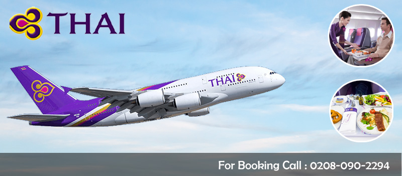 Book Thai Airways Flights From United Kingdom, Travel Wide Flights, Book Flights and Hotels