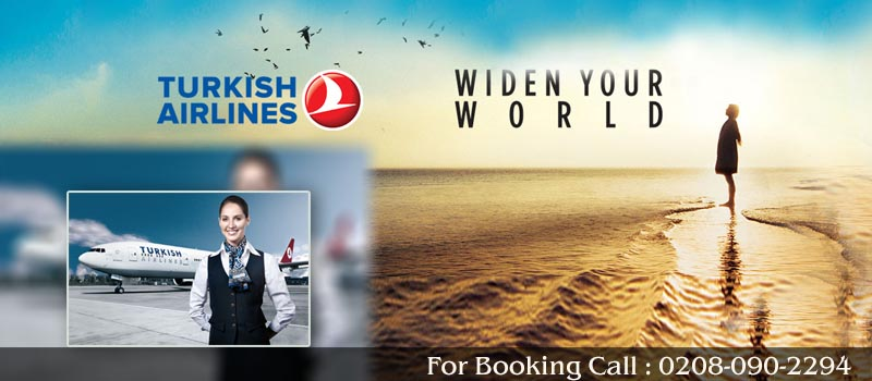 Book Turkish Airlines Flights From United Kingdom, Travel Wide Flights, Book Flights and Hotels