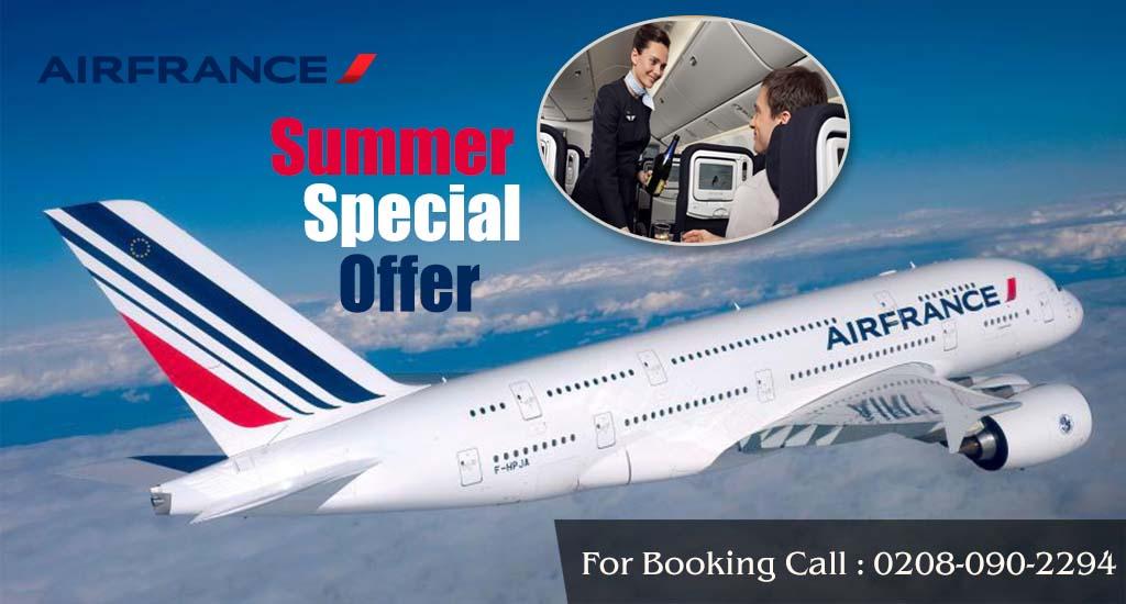 Air France United Kingdom Travel Wide Flights Book
