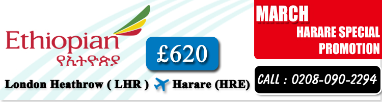 Harare Special Offers, Cheap Flights to Harare from London Heathrow, Travel Wide Flights