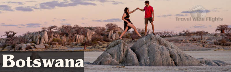 Cheap Flights To Botswana from London, Travel to Botswana