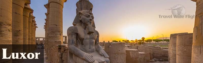 cheap flights to Luxor, Travel Wide Flights