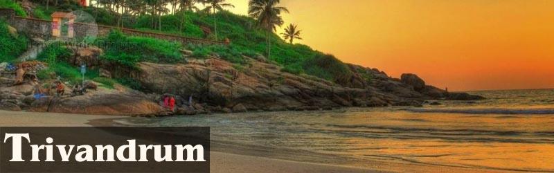 Cheap Flights To Trivandrum, Travel to Trivandrum-India