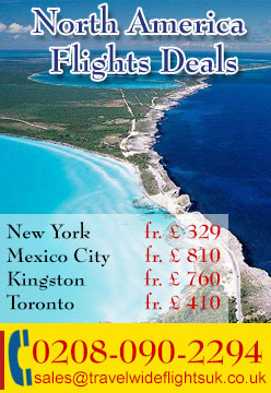 Online Flight Booking, Flights to North America From London.