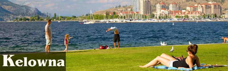 Cheap Flights To Kelowna, Kelowna Beach
