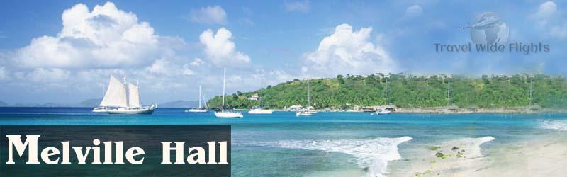 Cheap Flights To melville-hall, melville-hall Beach