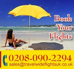 Online Flight Booking, Flights to Africa From London.