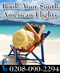 Online Flight Booking, Flights to South America From London.